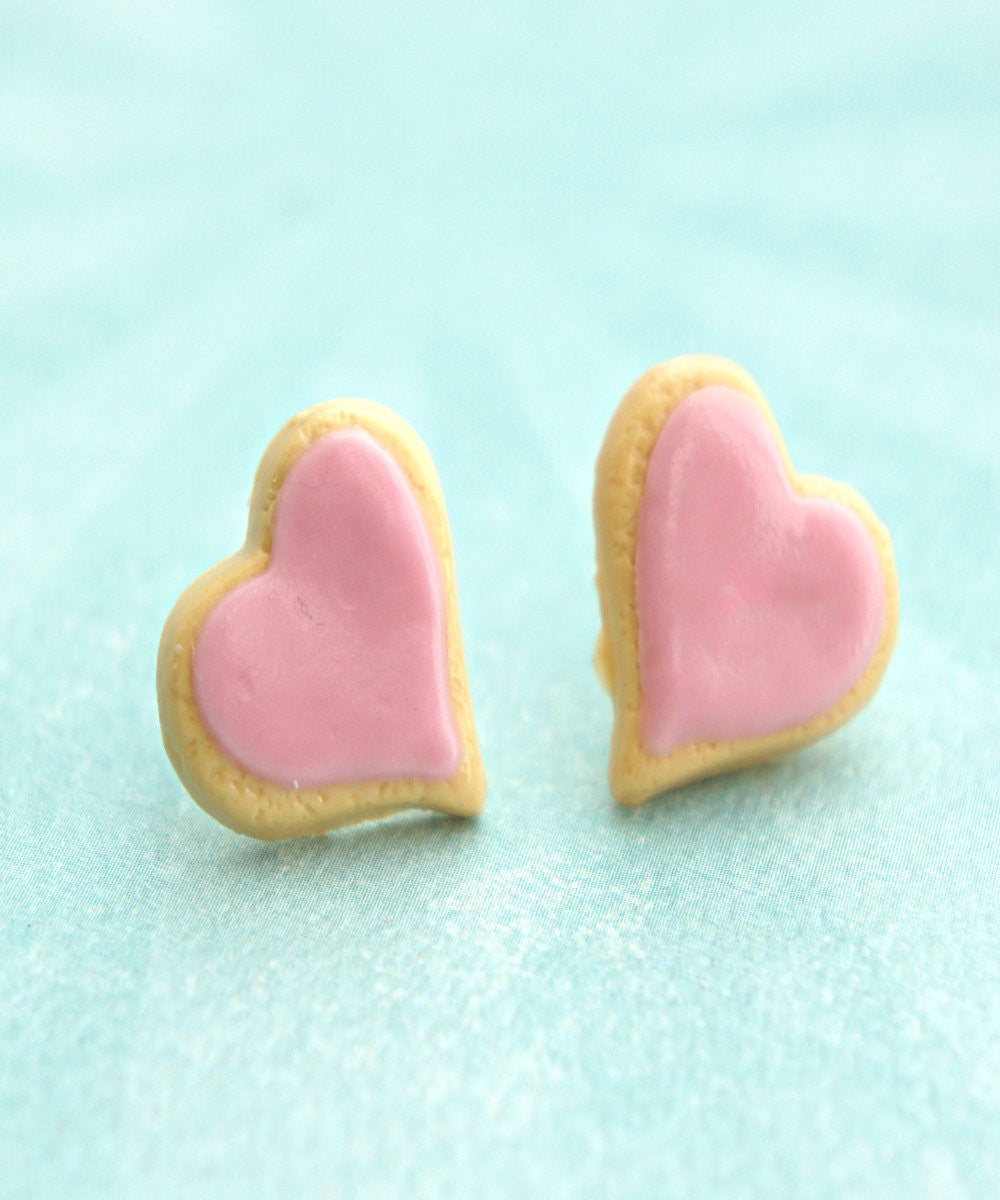 Heart Sugar Cookies Earrings - Jillicious charms and accessories - 3