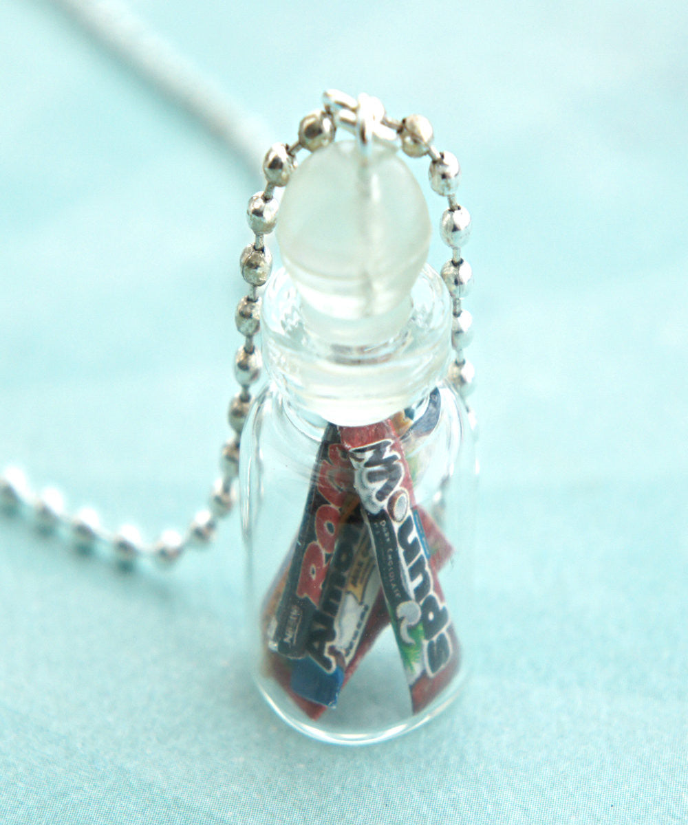 Candies in a Jar Necklace - Jillicious charms and accessories