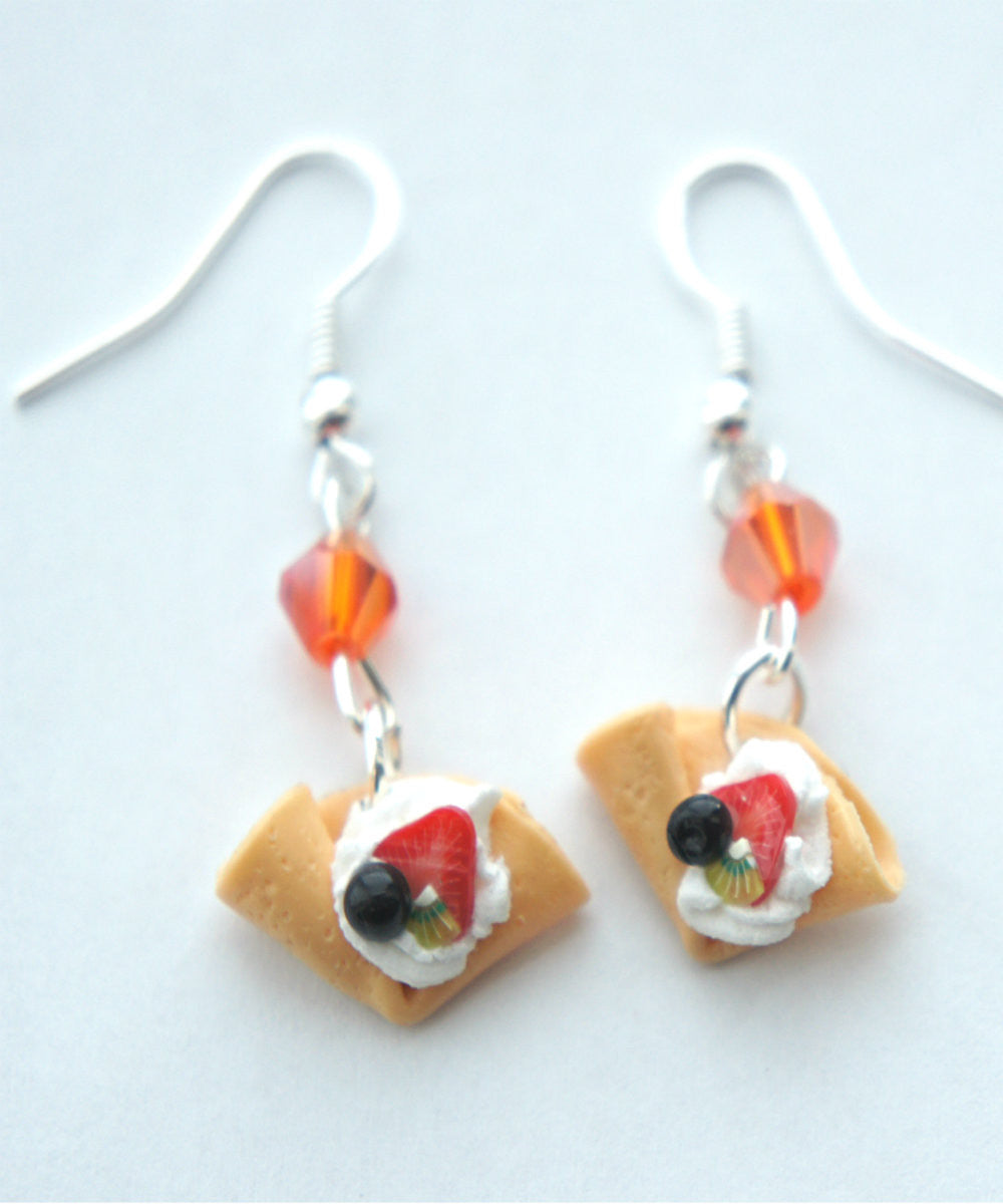 fruit crepe dangle earrings - Jillicious charms and accessories