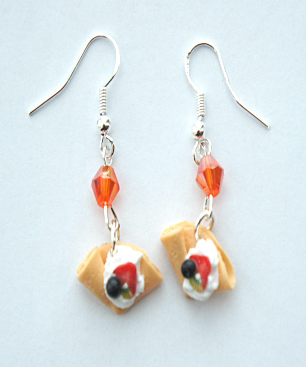 fruit crepe dangle earrings - Jillicious charms and accessories - 3