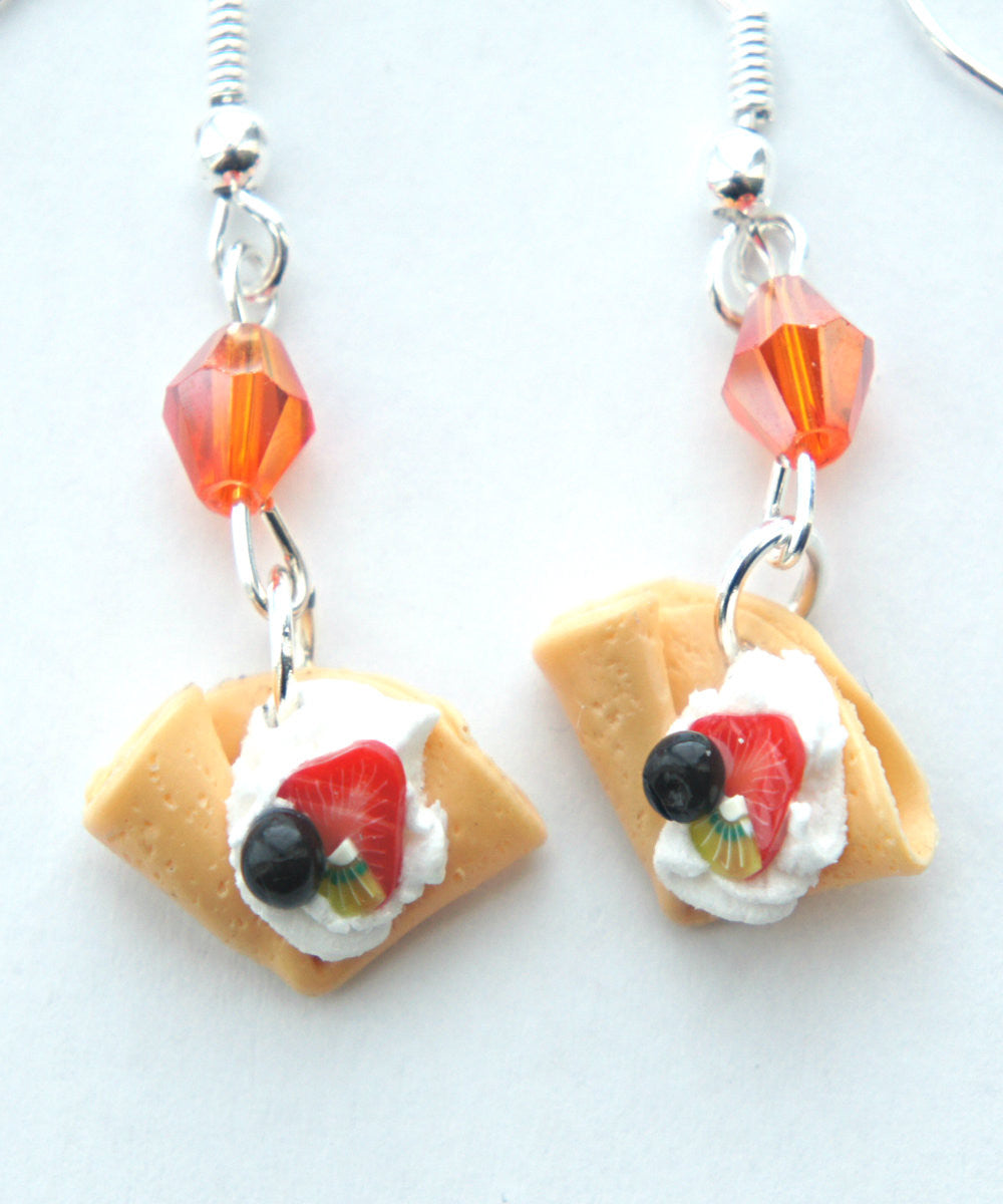 fruit crepe dangle earrings - Jillicious charms and accessories - 1