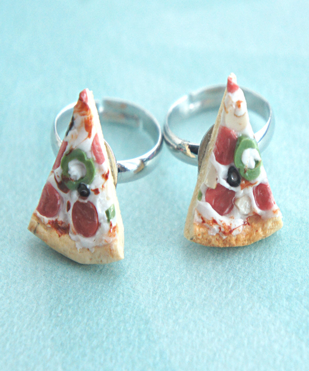 pizza friendship rings - Jillicious charms and accessories - 2