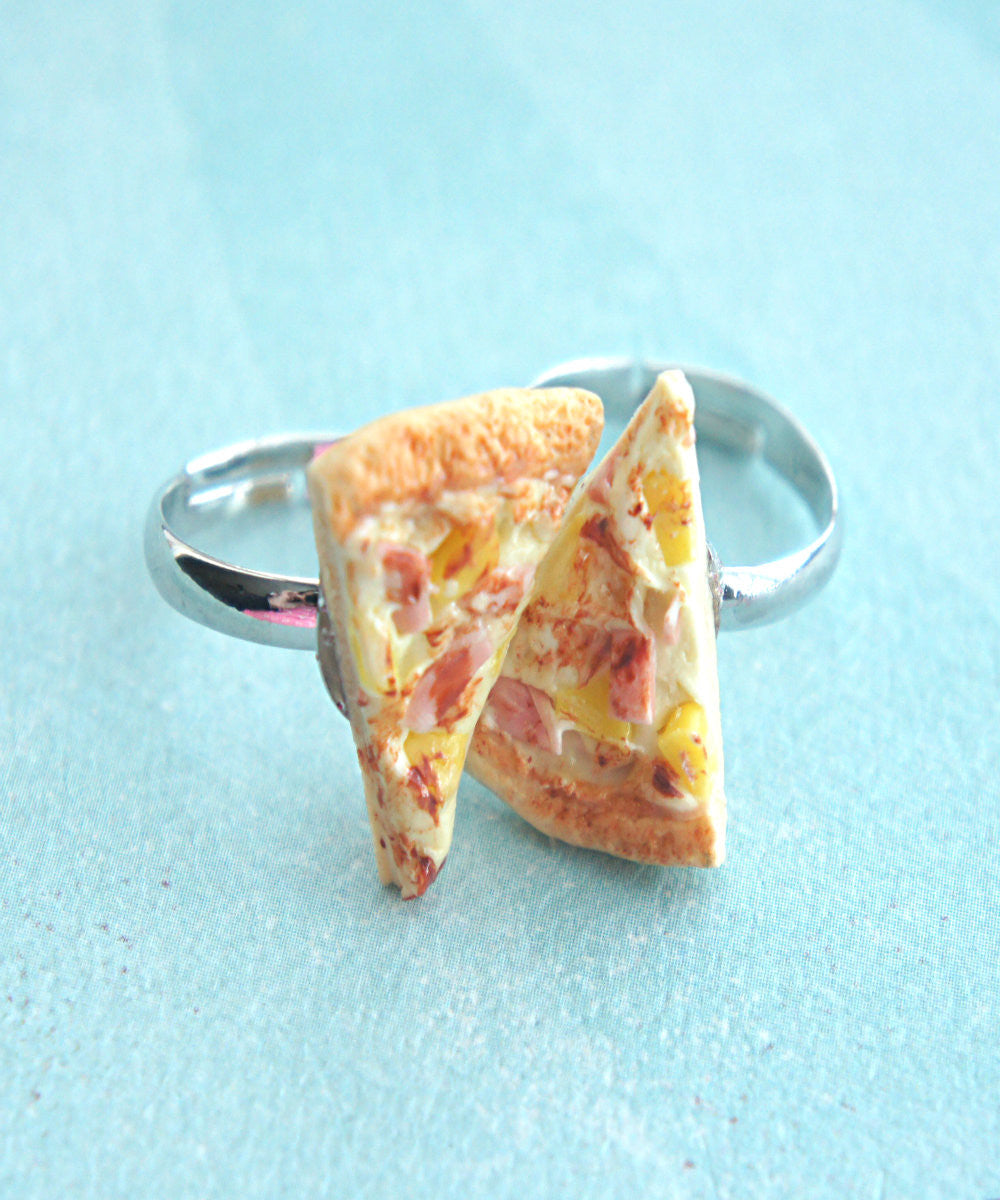 pizza friendship rings - Jillicious charms and accessories - 1