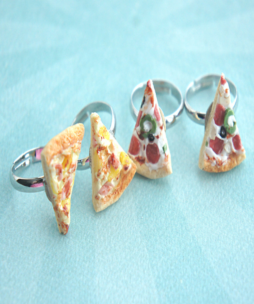 pizza friendship rings - Jillicious charms and accessories - 3