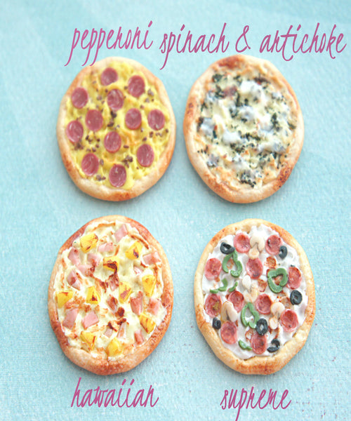 Pizza Magnet - Jillicious charms and accessories