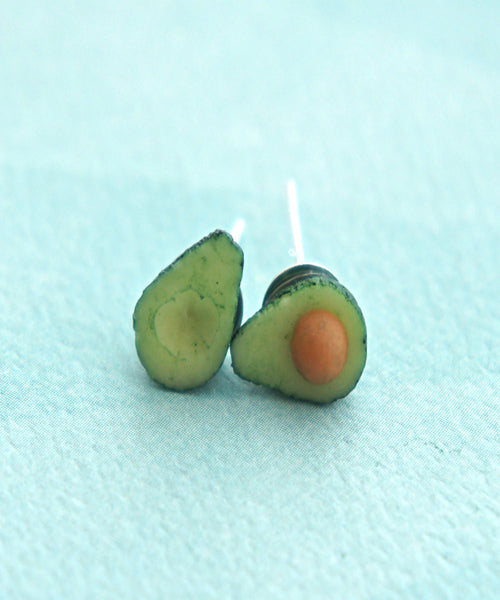 Avocado Stud Earrings - Jillicious charms and accessories