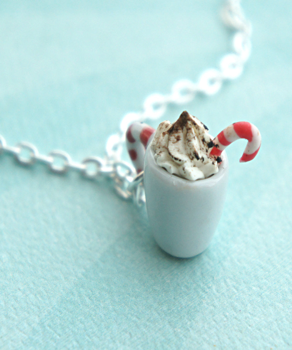 Peppermint Mocha Necklace - Jillicious charms and accessories - 1