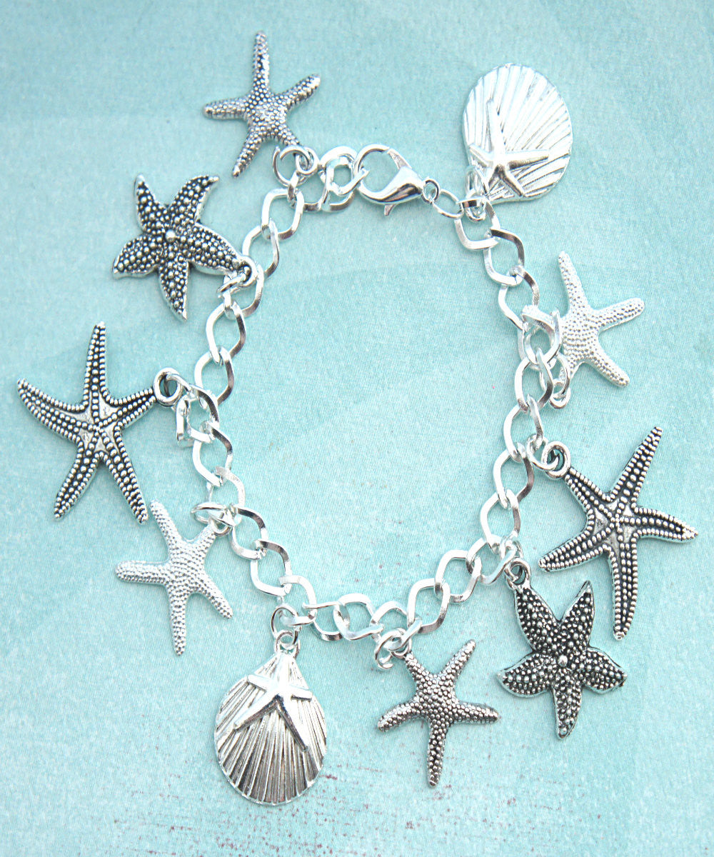 Seashells Charm Bracelet - Jillicious charms and accessories - 1