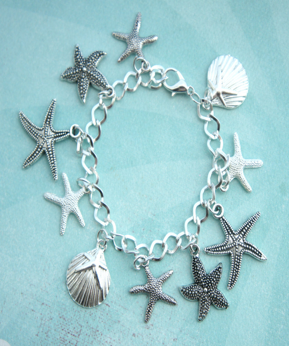 Seashells Charm Bracelet - Jillicious charms and accessories - 2