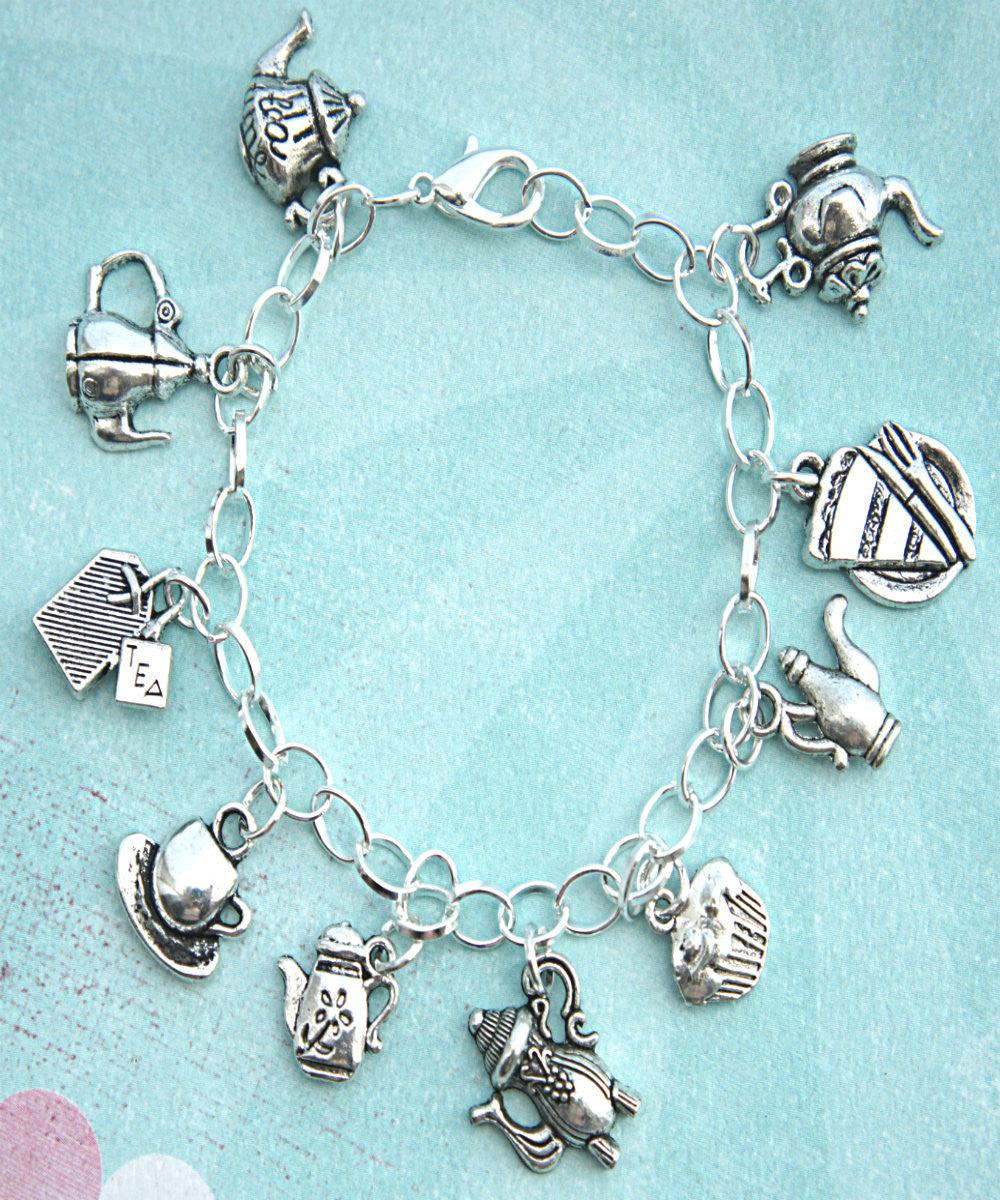 Tea Set Charm Bracelet - Jillicious charms and accessories - 2