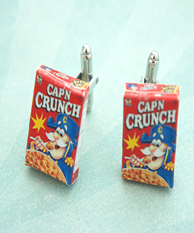 cereal box cuff links - Jillicious charms and accessories