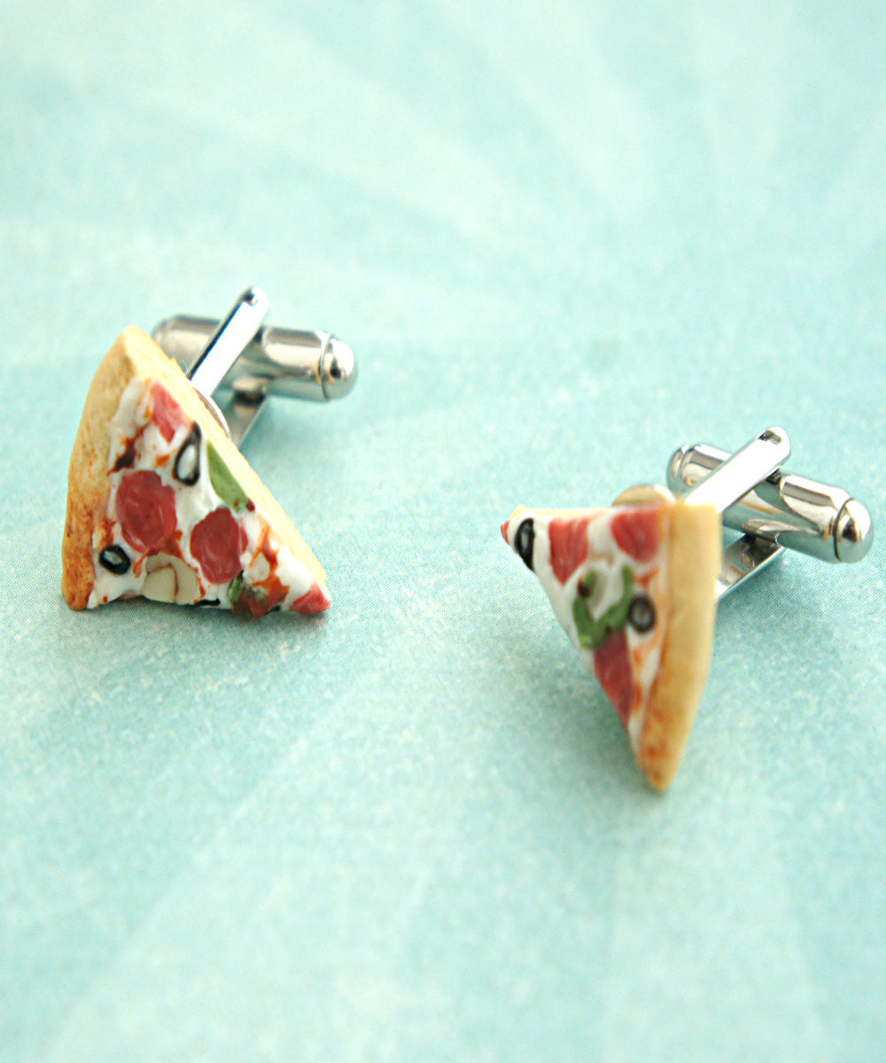 Pizza Cuff Links - Jillicious charms and accessories - 3
