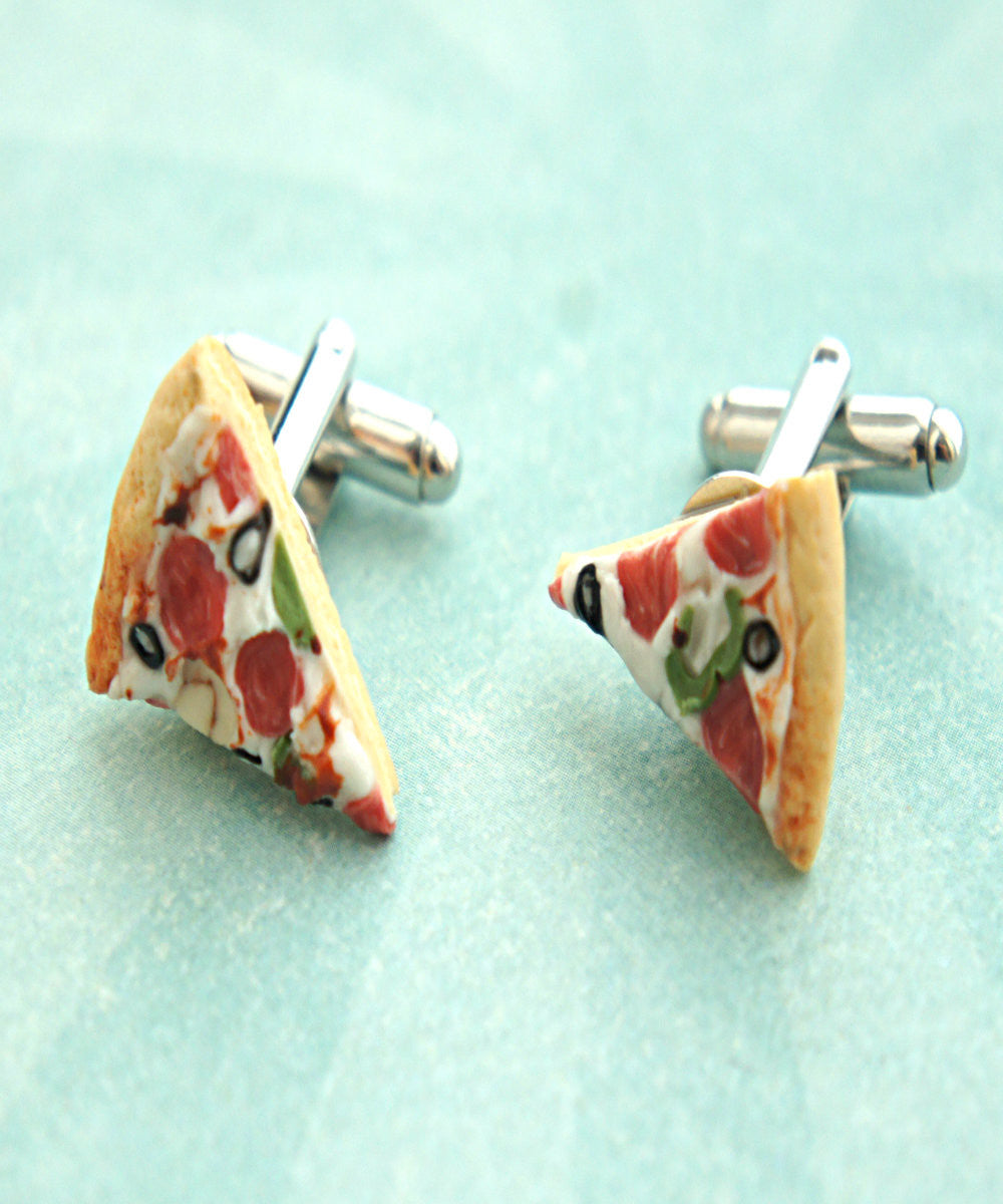Pizza Cuff Links - Jillicious charms and accessories - 2