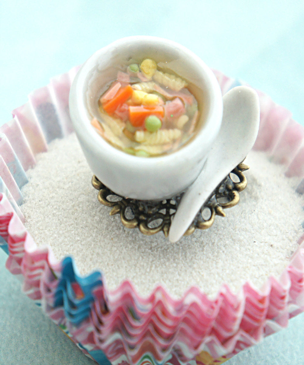 chicken noodle soup ring - Jillicious charms and accessories