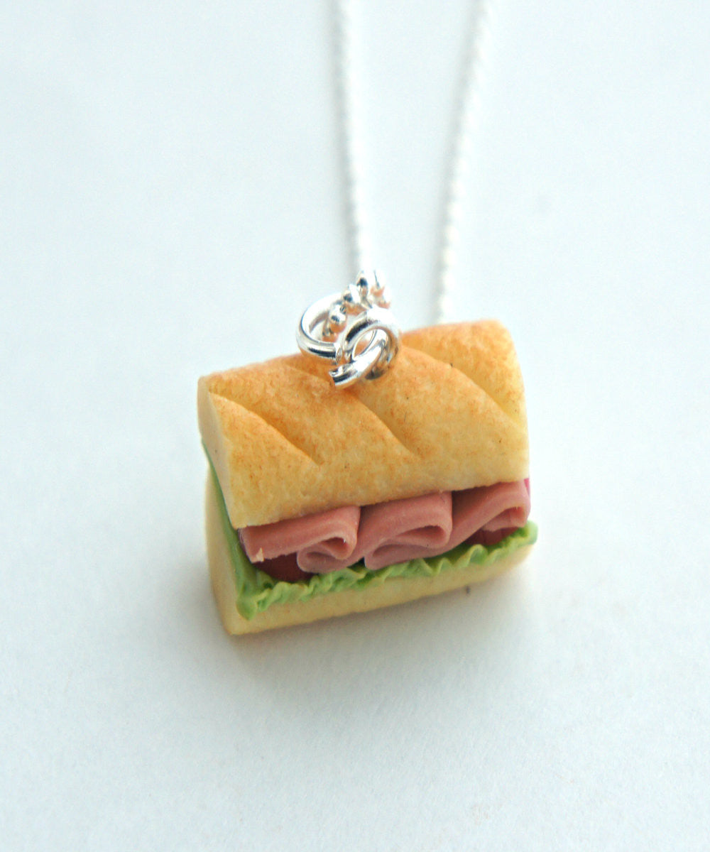 Sub Sandwich Necklace - Jillicious charms and accessories - 4