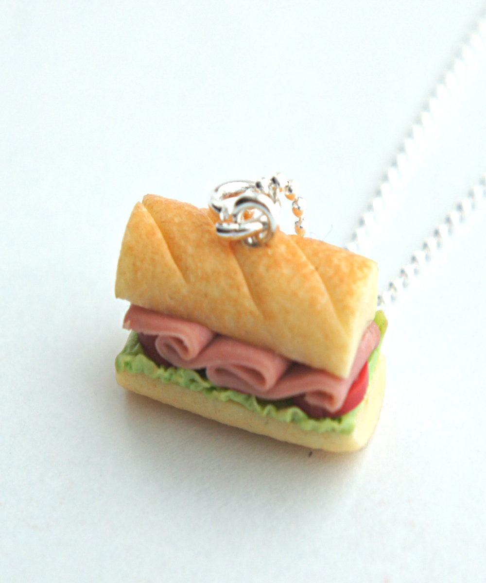 Sub Sandwich Necklace - Jillicious charms and accessories