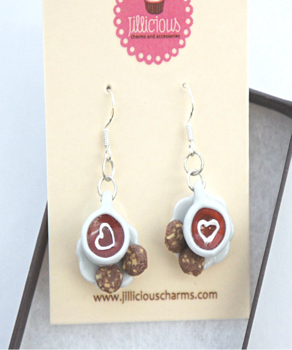 Tea Time Dangle Earrings - Jillicious charms and accessories - 2