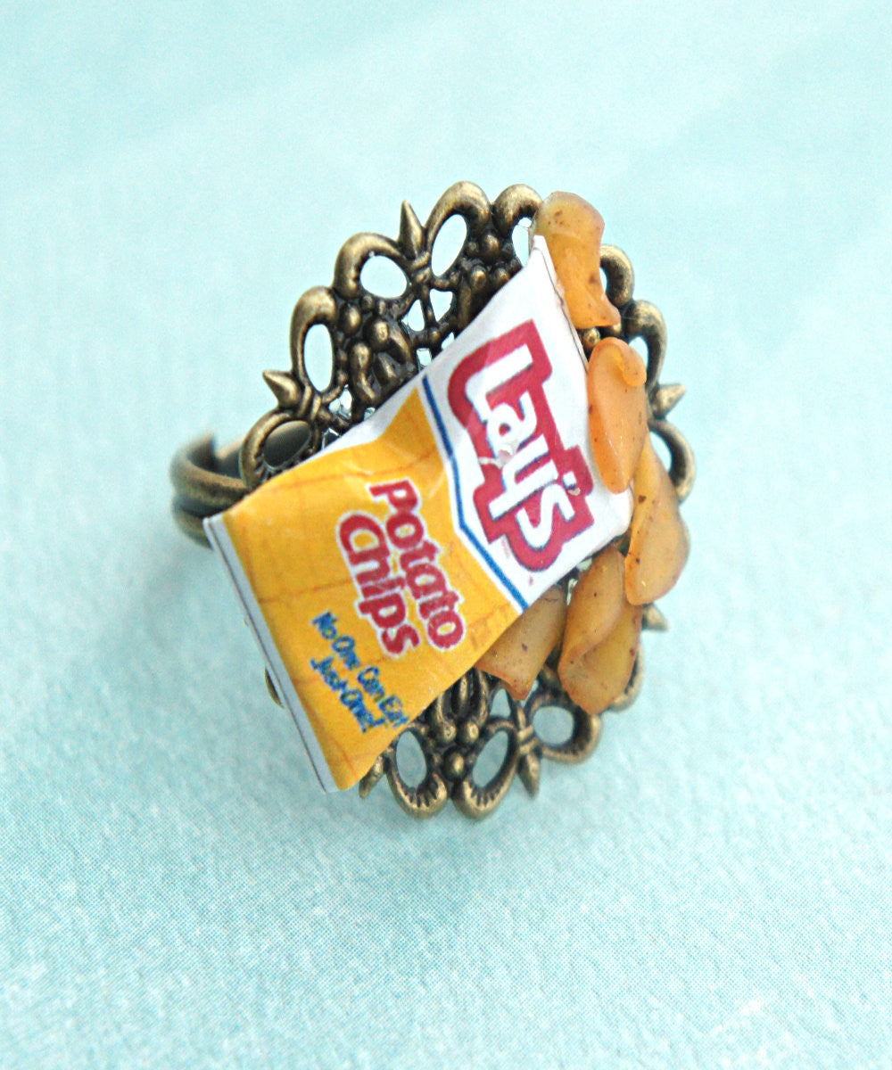 Potato Chips Ring - Jillicious charms and accessories - 1