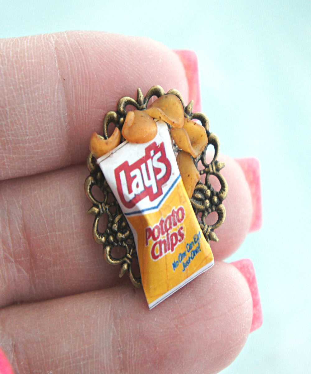 Potato Chips Ring - Jillicious charms and accessories - 2