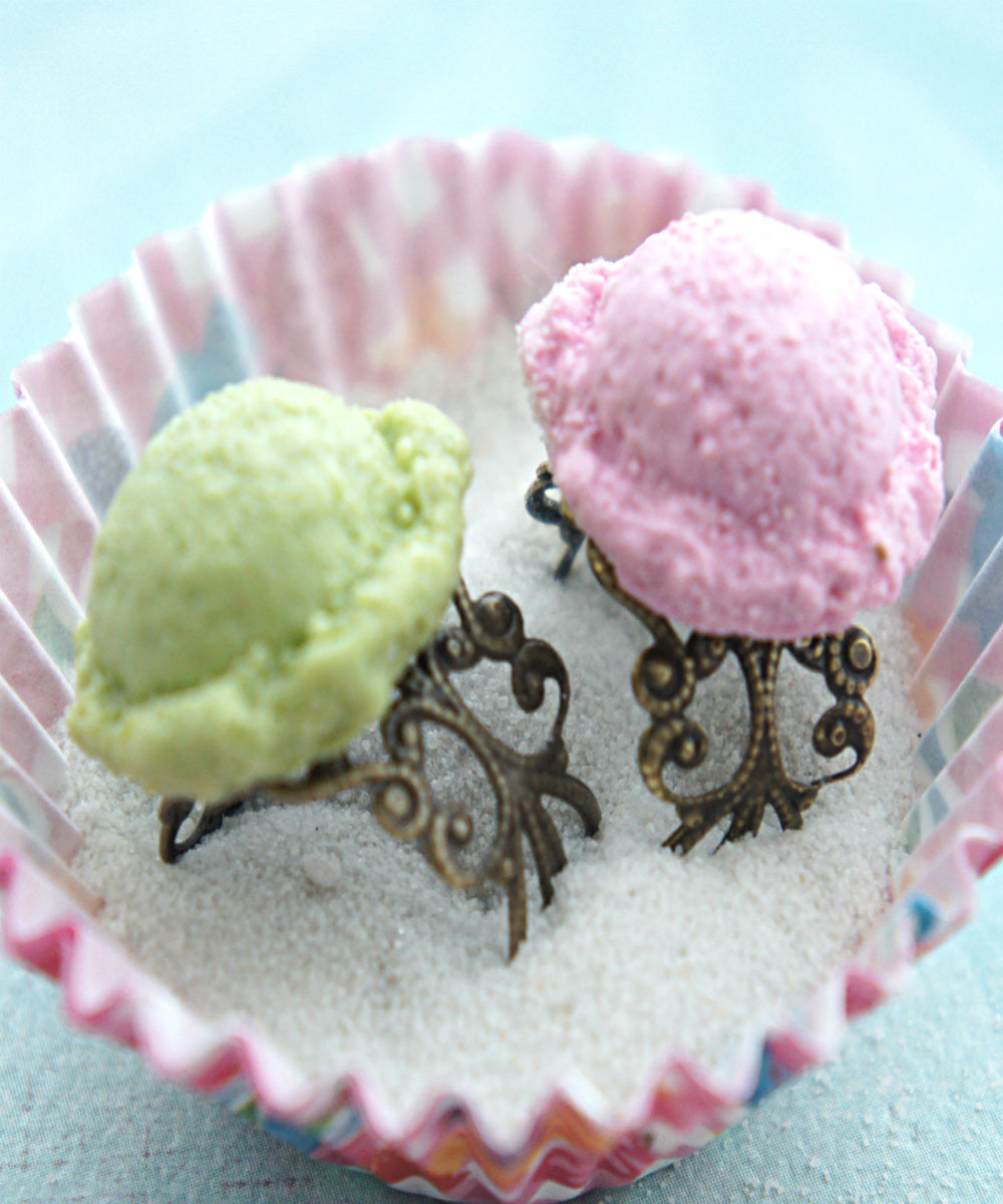 ice cream scoop ring - Jillicious charms and accessories - 1
