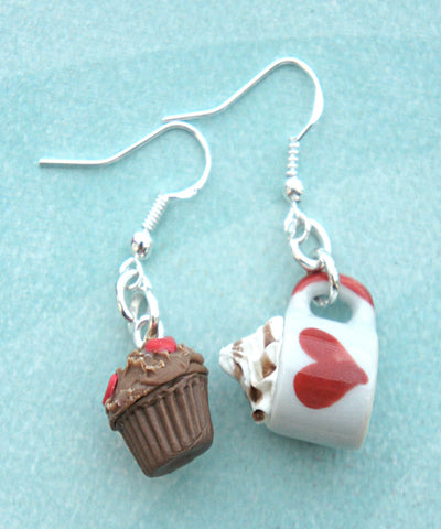 Alice in Wonderland Inspired Dangle Earrings - Jillicious charms and accessories - 1