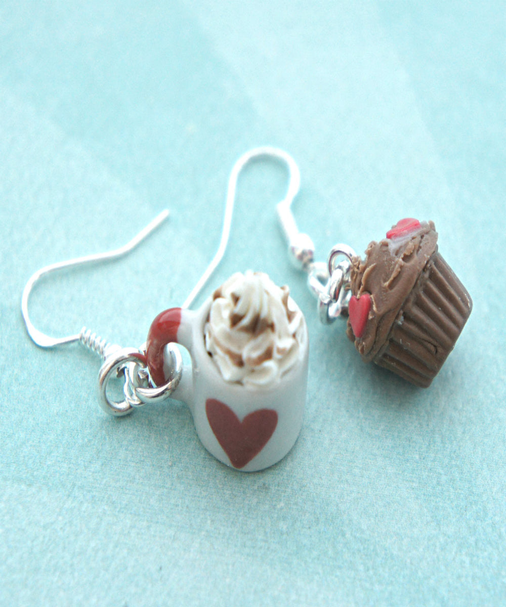 Alice in Wonderland Inspired Dangle Earrings - Jillicious charms and accessories - 2