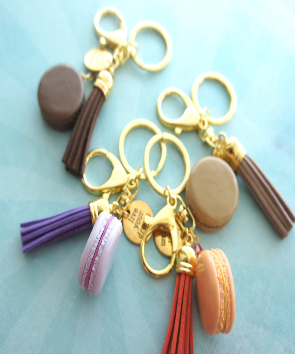 french macaron keychain and bag charm - Jillicious charms and accessories - 3