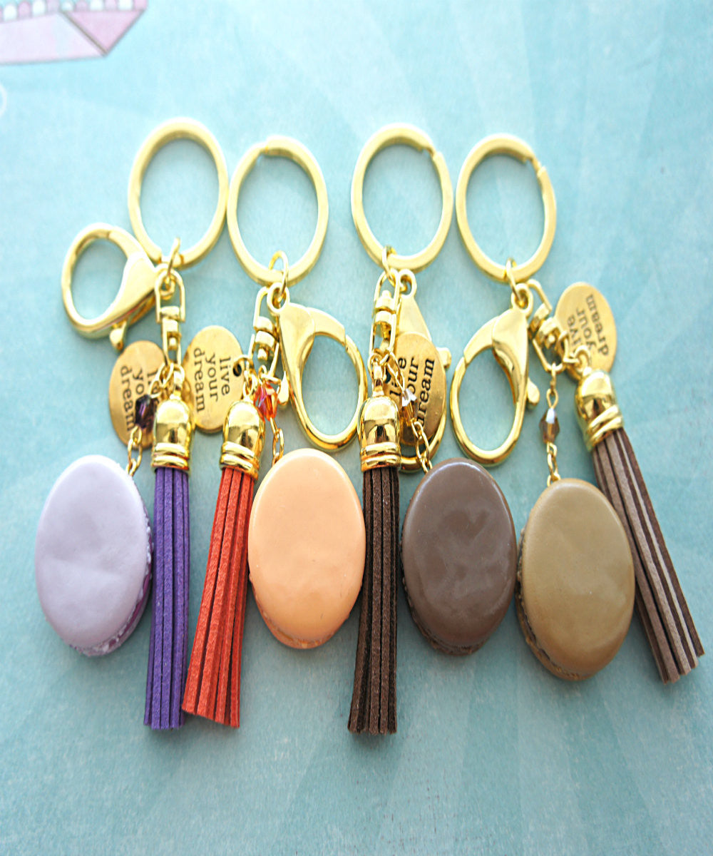 french macaron keychain and bag charm - Jillicious charms and accessories - 5