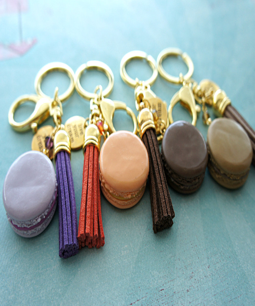 french macaron keychain and bag charm - Jillicious charms and accessories - 4