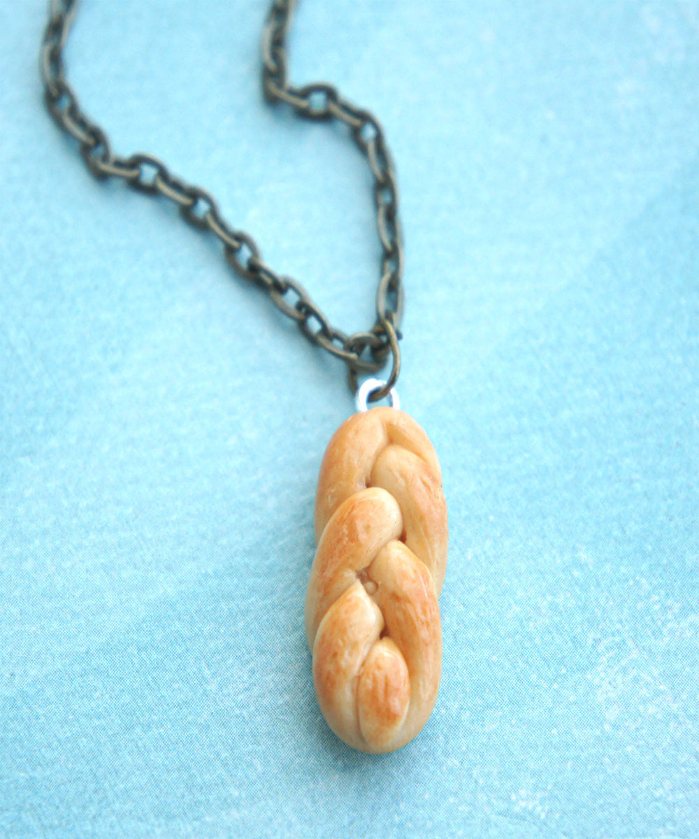 challah bread necklace - Jillicious charms and accessories