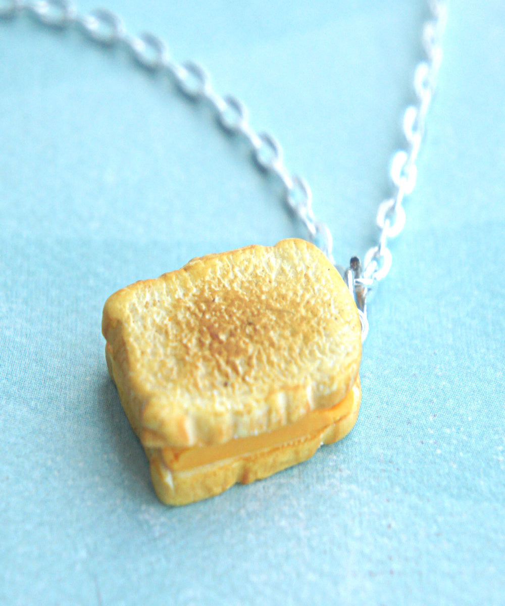 grilled cheese sandwich necklace - Jillicious charms and accessories - 4