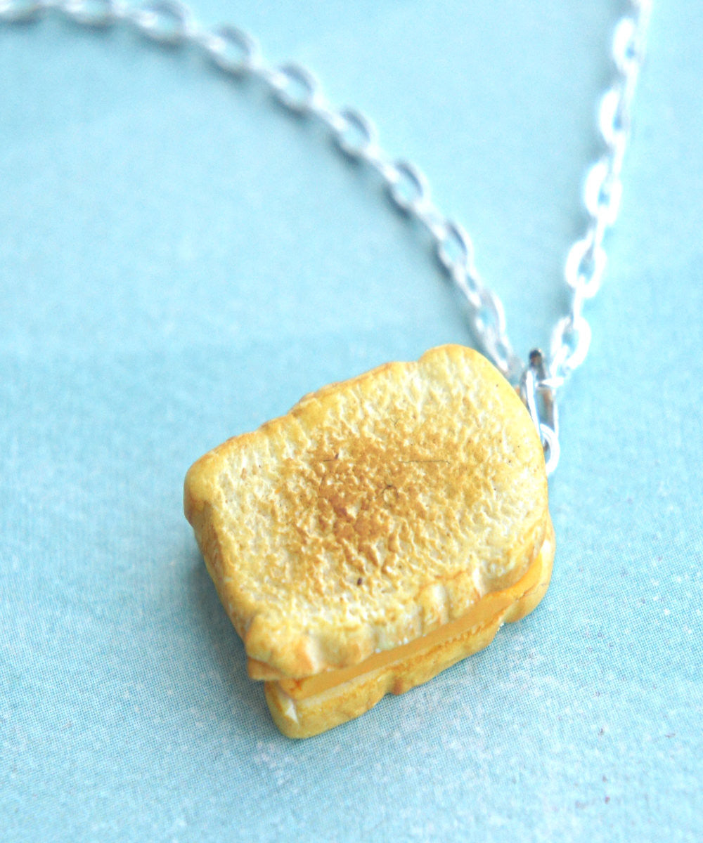 grilled cheese sandwich necklace - Jillicious charms and accessories - 6