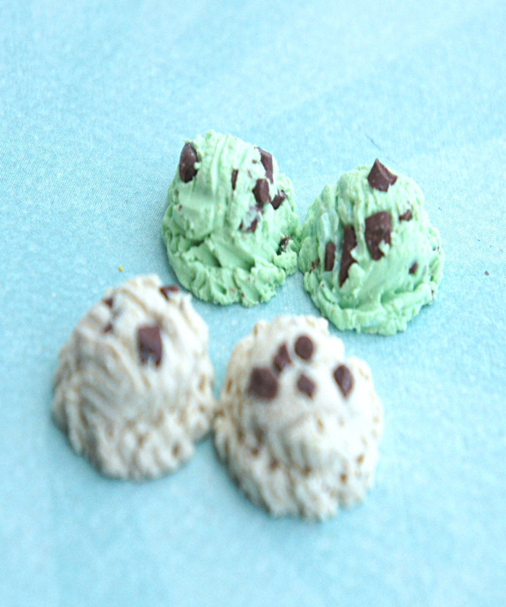 Ice Cream Scoop Earrings - Jillicious charms and accessories