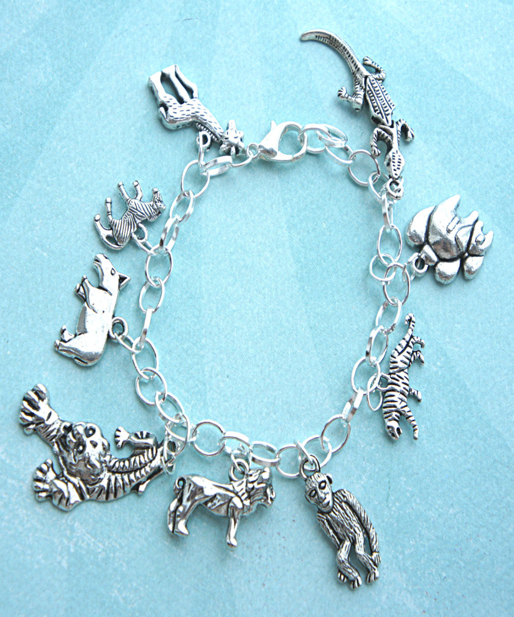 Safari Inspired Charm Bracelet - Jillicious charms and accessories - 2