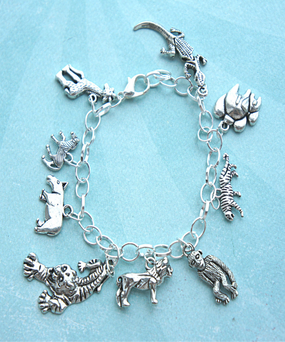 Safari Inspired Charm Bracelet - Jillicious charms and accessories - 4