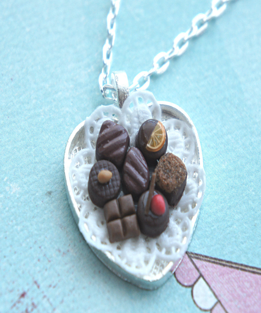 chocolate truffles necklace - Jillicious charms and accessories