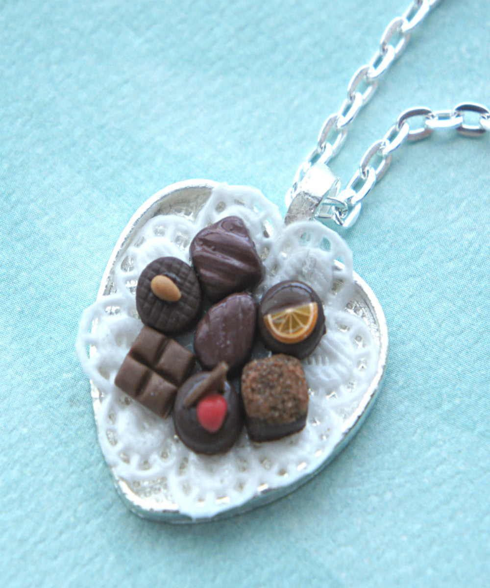 chocolate truffles necklace - Jillicious charms and accessories - 4