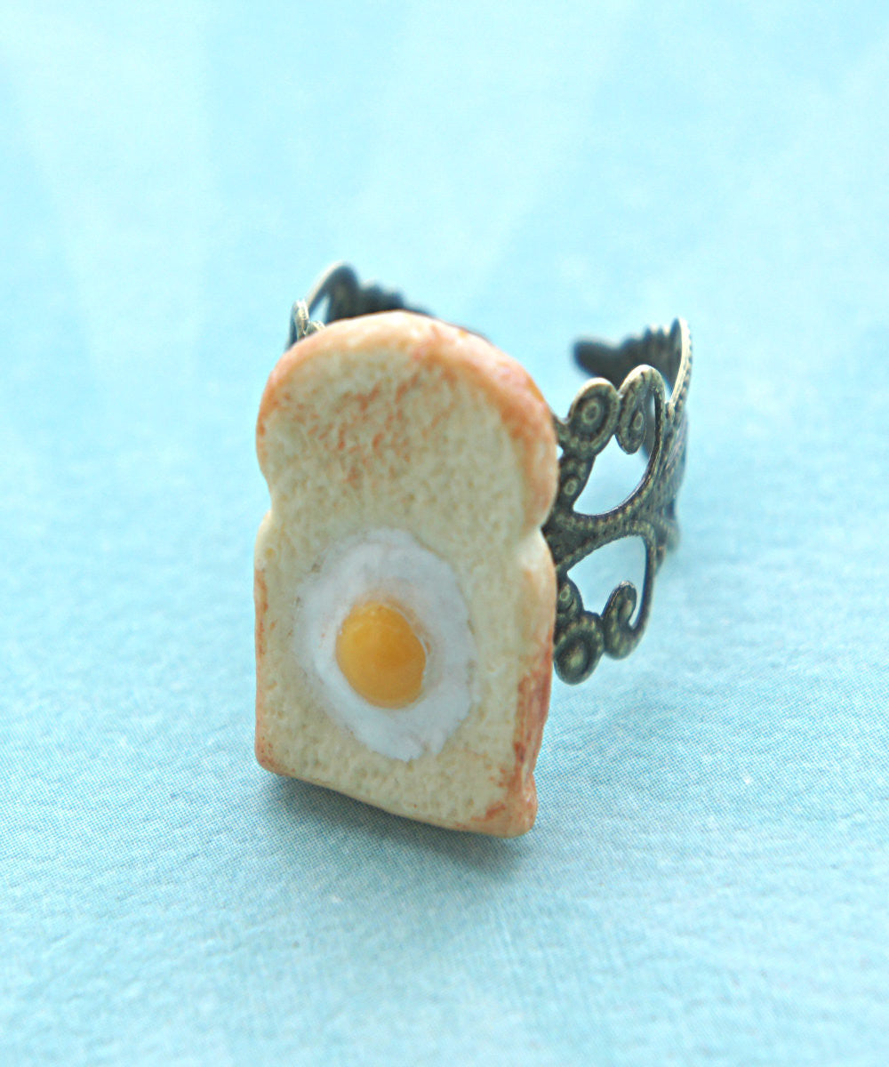 egg in the basket ring - Jillicious charms and accessories