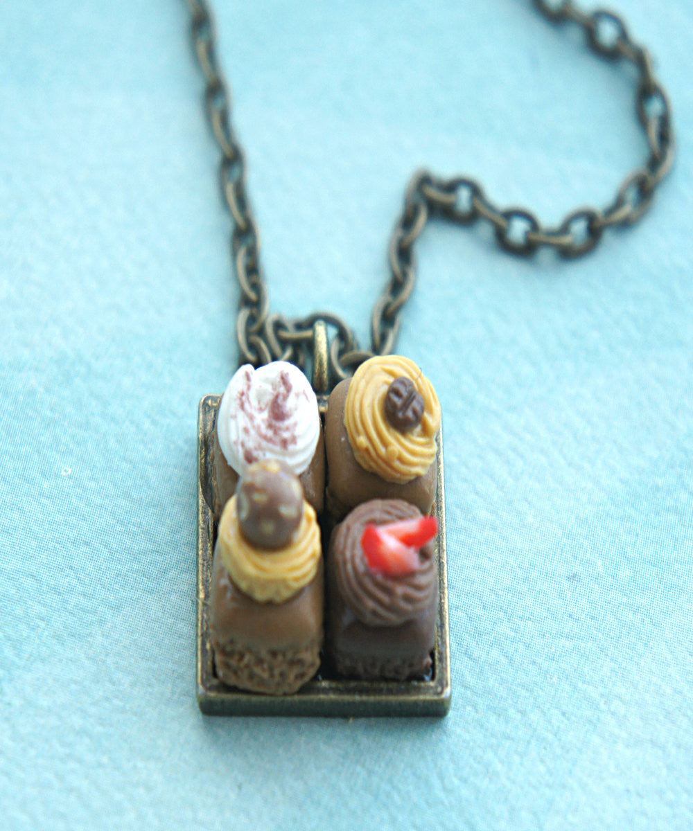 Brownie Sampler Necklace - Jillicious charms and accessories - 3