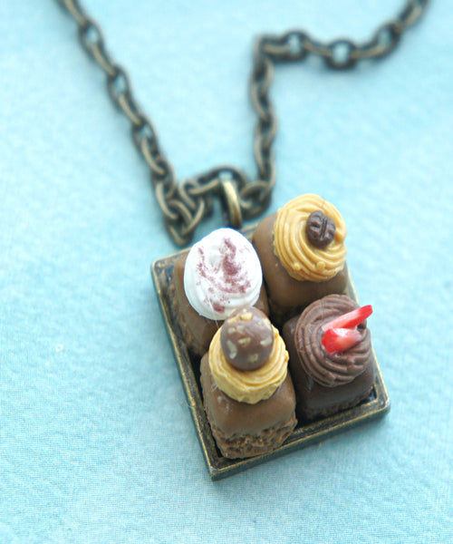 Brownie Sampler Necklace - Jillicious charms and accessories - 1