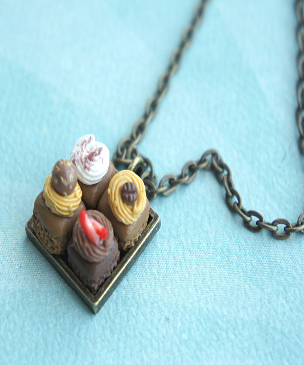 Brownie Sampler Necklace - Jillicious charms and accessories - 2