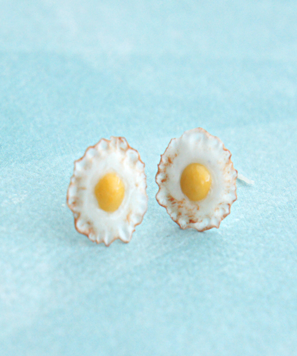 fried egg stud earrings - Jillicious charms and accessories - 2