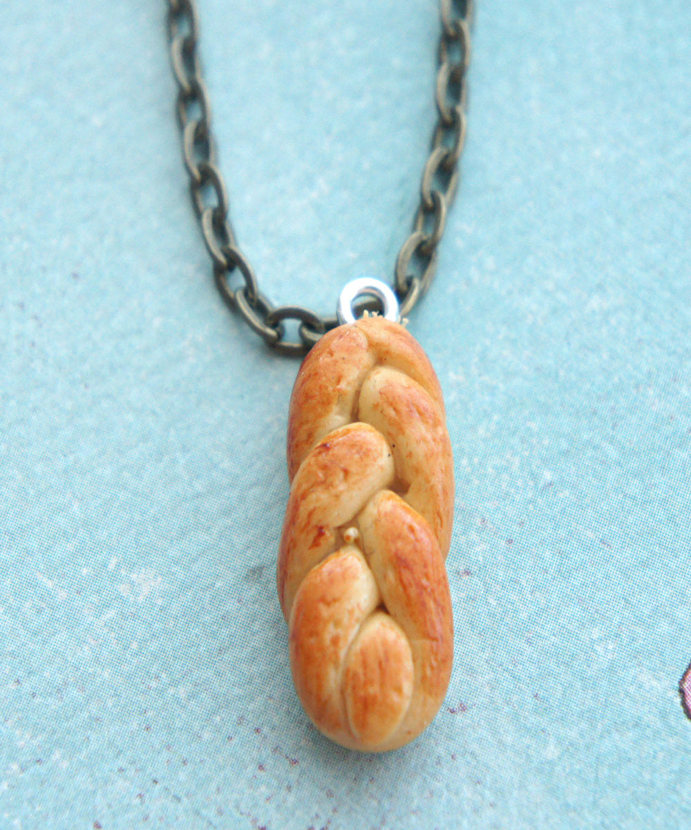 challah bread necklace - Jillicious charms and accessories - 3