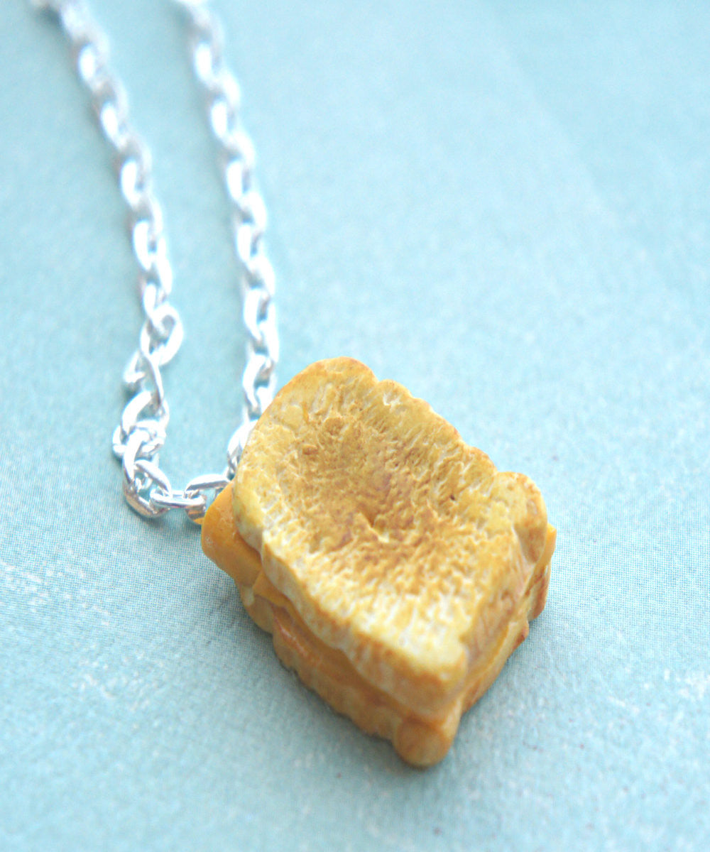 grilled cheese sandwich necklace - Jillicious charms and accessories - 5
