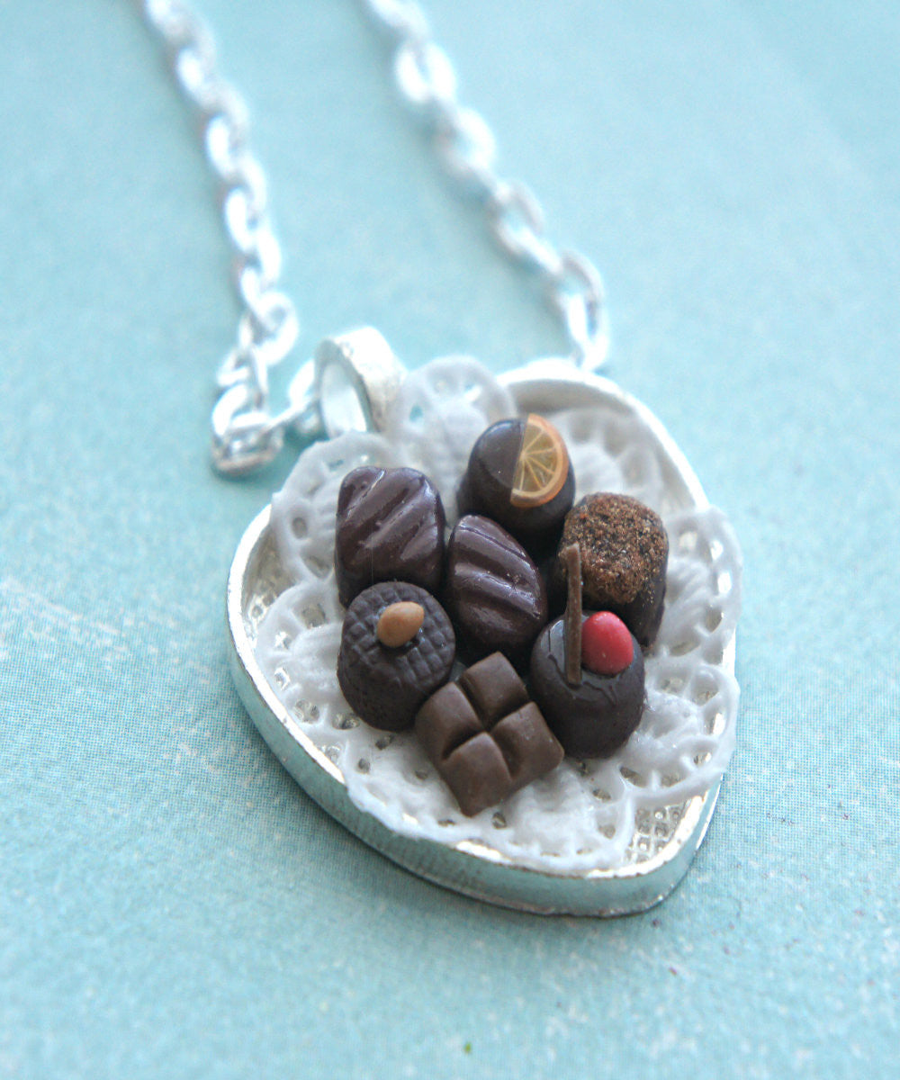 chocolate truffles necklace - Jillicious charms and accessories - 5