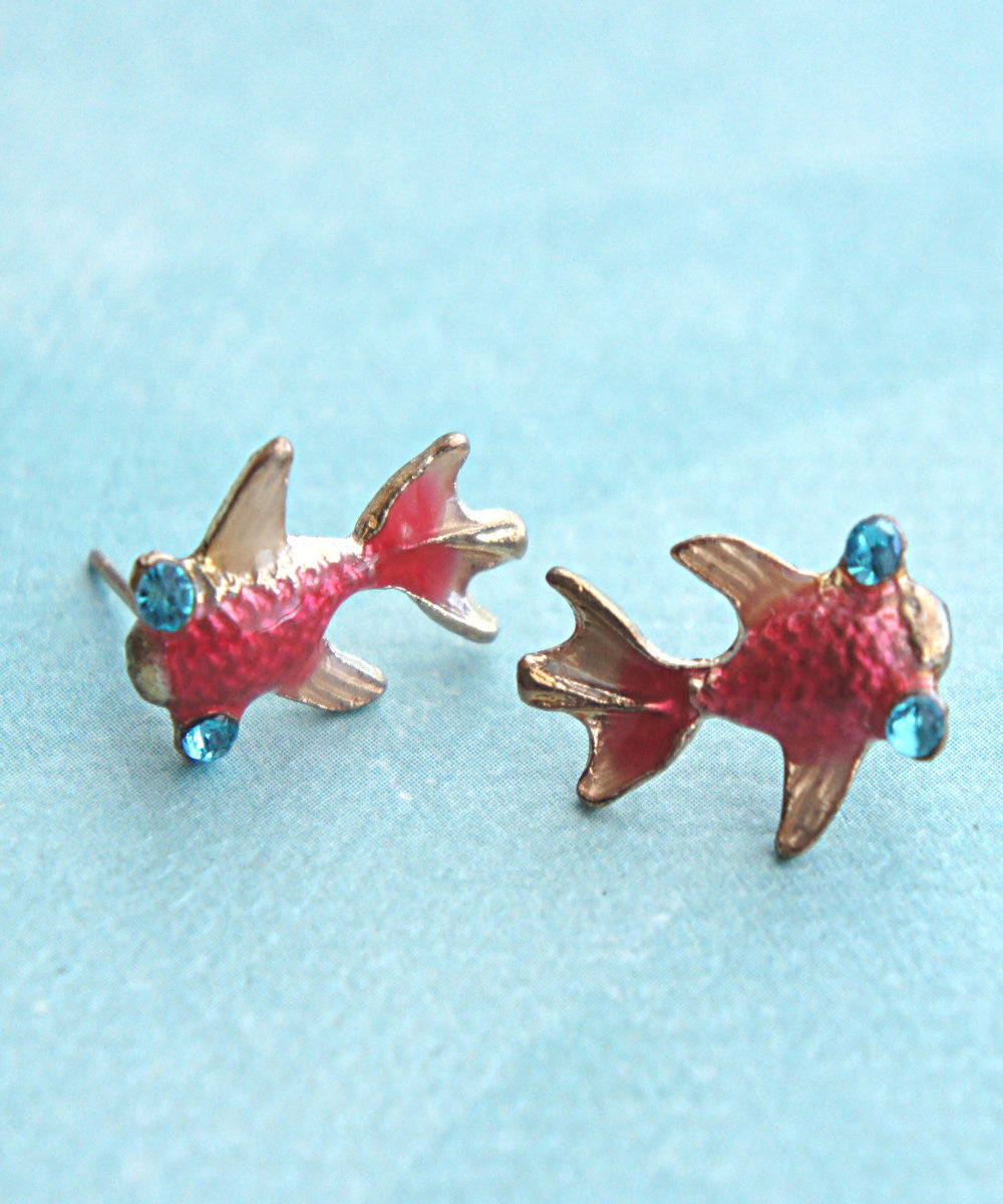 Koi Fish Earrings - Jillicious charms and accessories - 1