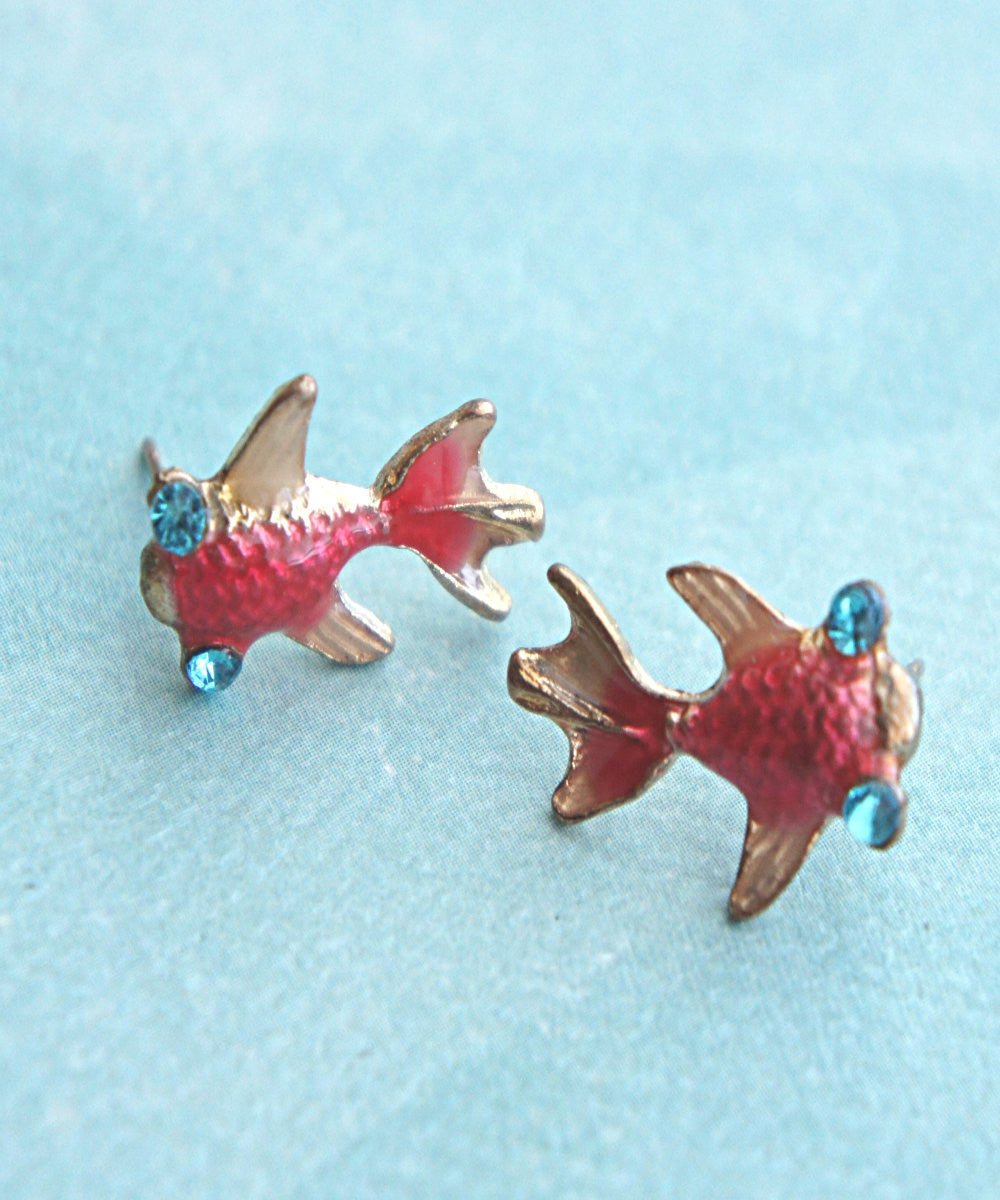 Koi Fish Earrings - Jillicious charms and accessories - 2