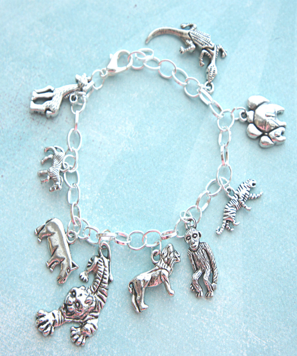 Safari Inspired Charm Bracelet - Jillicious charms and accessories - 1