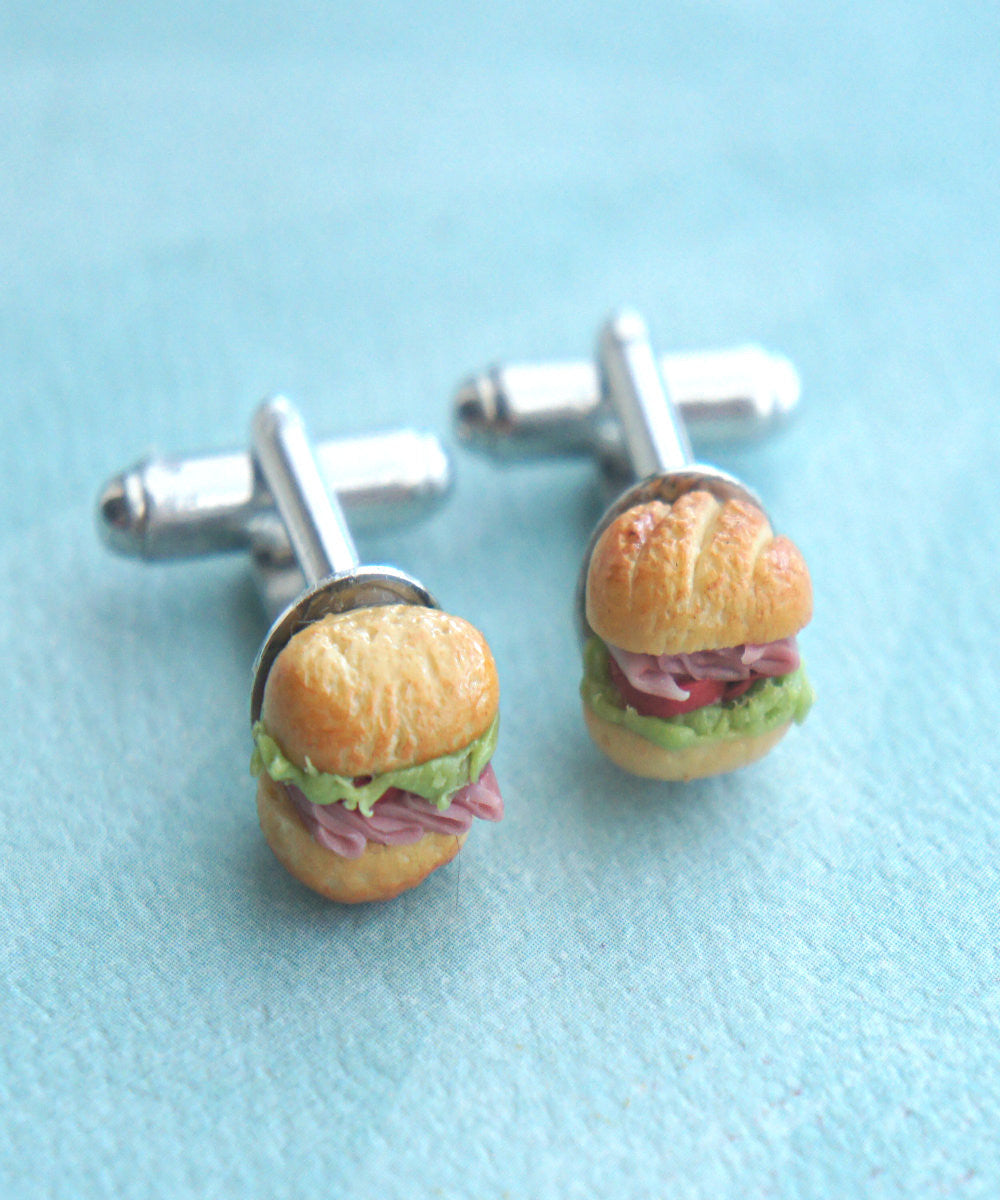 Sub Sandwich Cuff links - Jillicious charms and accessories - 2
