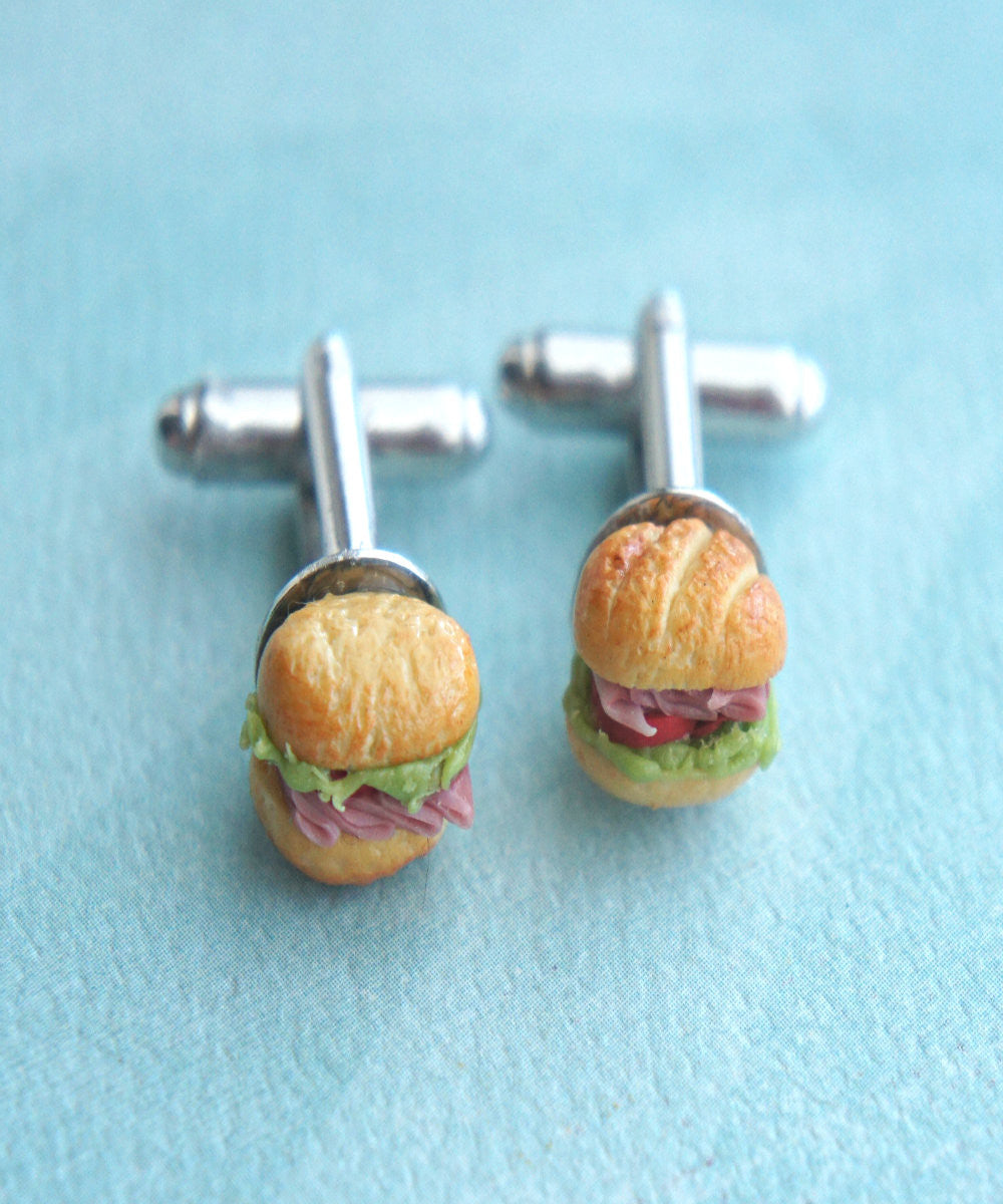 Sub Sandwich Cuff links - Jillicious charms and accessories - 3